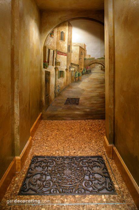 Entradas / Halls / escadas / Trilhos