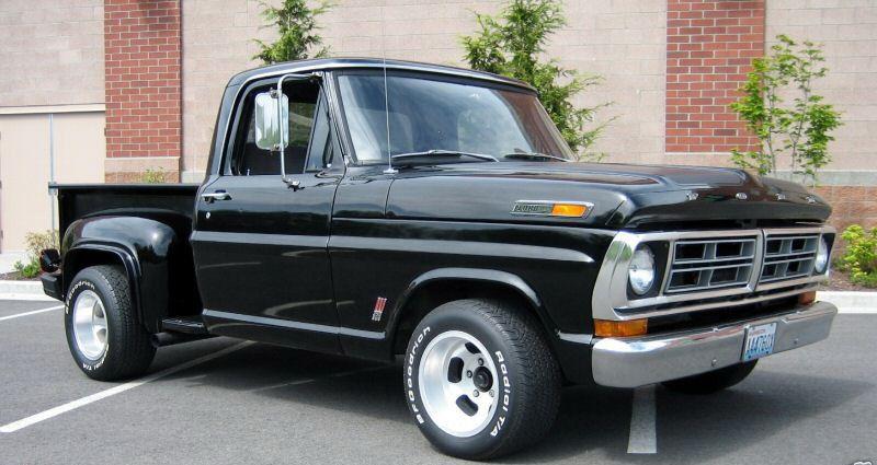 1970 Ford F 100 Stepside With Images Vintage Pickup Trucks