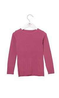3d2002d68ca5e Long-sleeved t-shirt with pointelle pattern