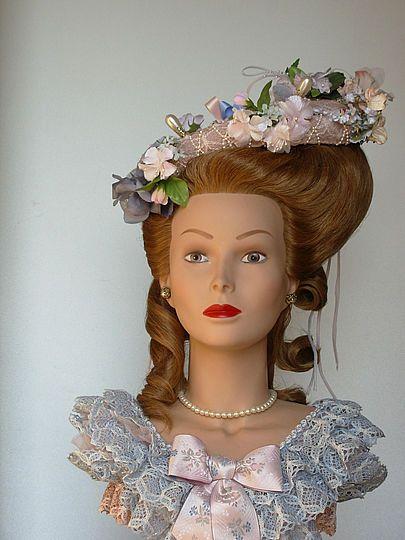 Buste virtuel de coiffure historique madame de lamballe for Miroir virtuel coiffure