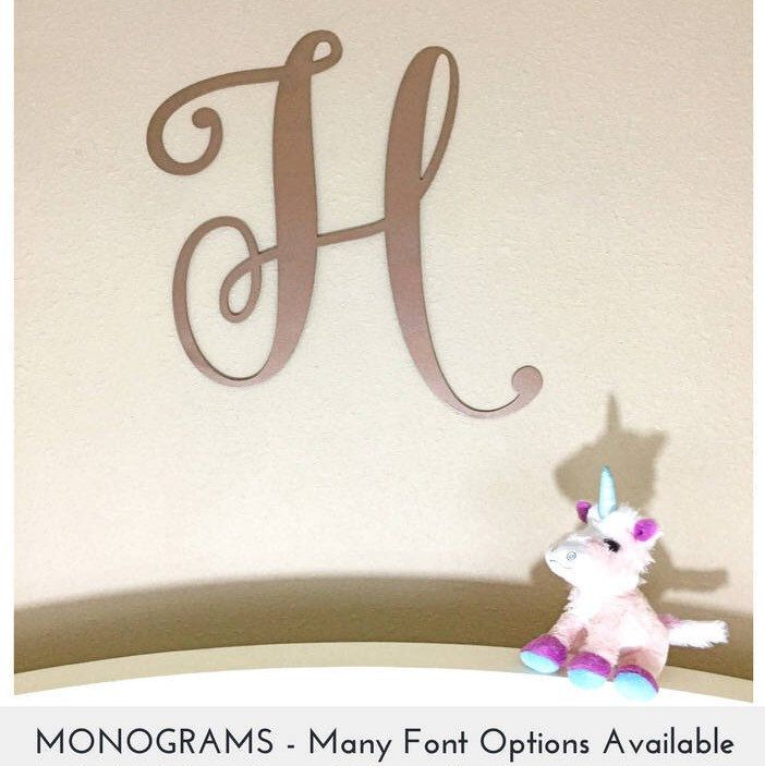 nursery monogram wedding monogram not wooden monogram monogram letter not wooden letter monogram wall monogram letters giant monogam