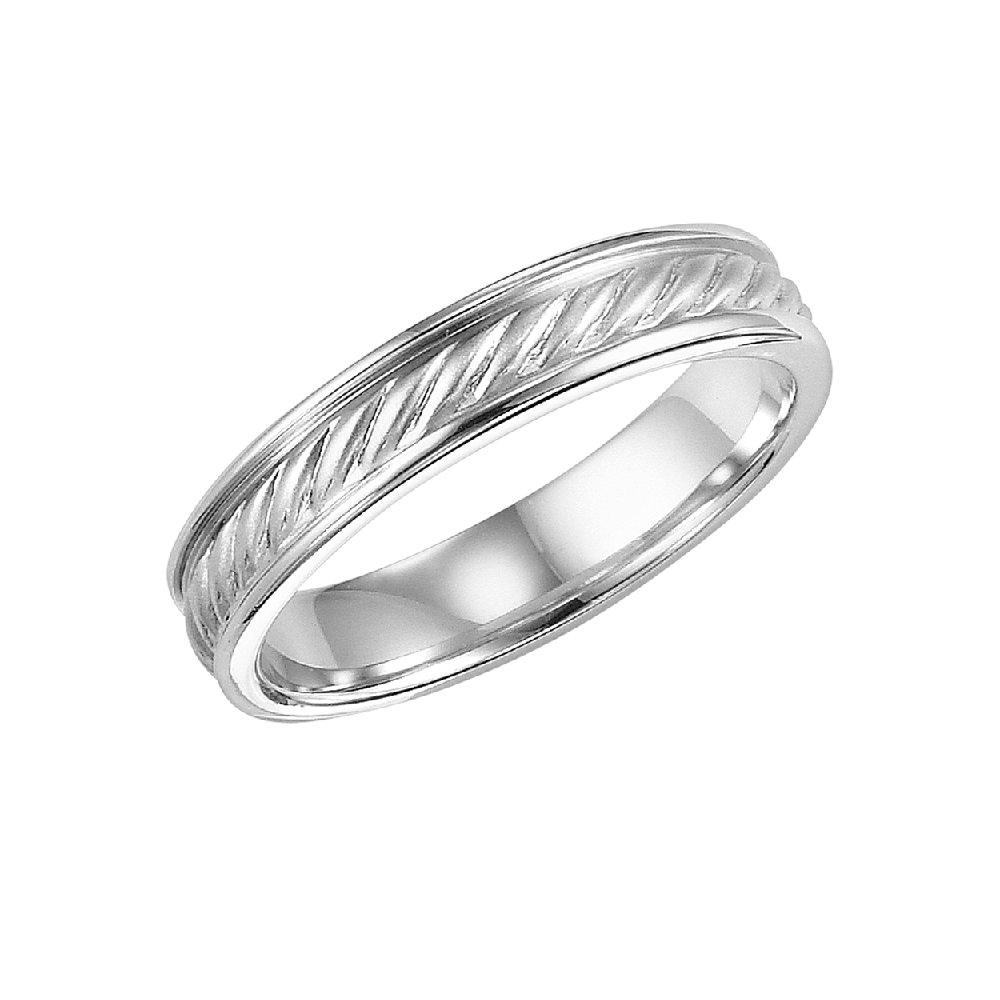 Men S Wedding Band In Rope Twist Design Tinkeringco Silver Wedding Bands Mens Wedding Bands Mens Silver Wedding Bands