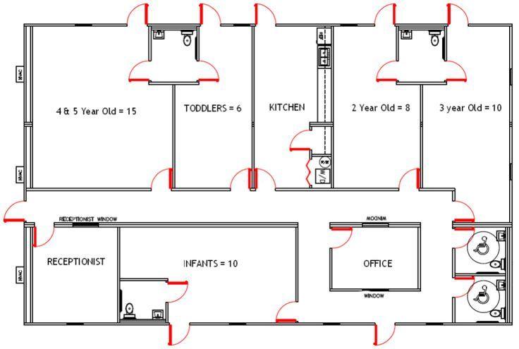 Image Result For Small Daycare Center Setup Daycare Design