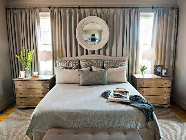 Curtains Behind Bed On Pinterest Window Behind Bed Canopy Over Bed Slaapkamer Make Over Slaapkamer Verbouwen Hedendaagse Slaapkamer