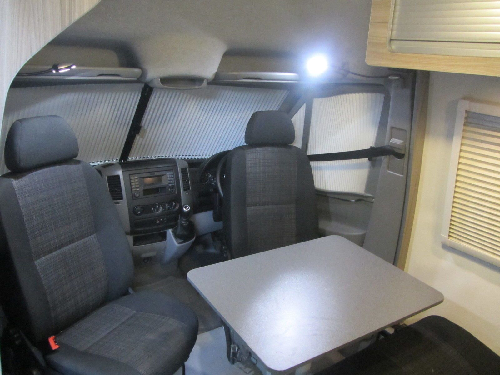 Mercedes Sprinter 313 CDI Sportshome Camper Van Conversion Race 4 Berth