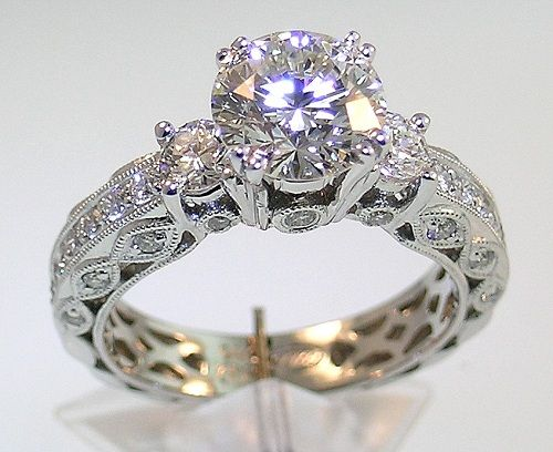 Vintage bridal and Bridal rings