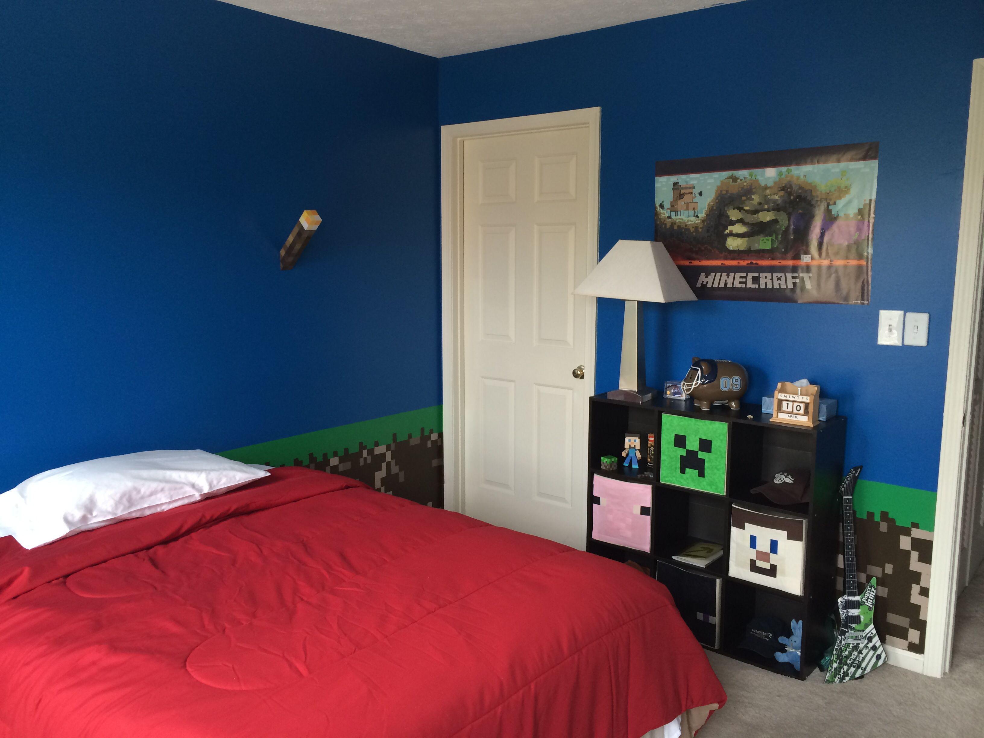 Minecraft Bedroom Alternate Angle Quarto Minecraft Quartos