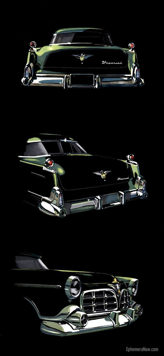 1955 Imperial brochure - Plan59, Classic Car Art, Vintage Ads: | Cars & Motorbikes from USA