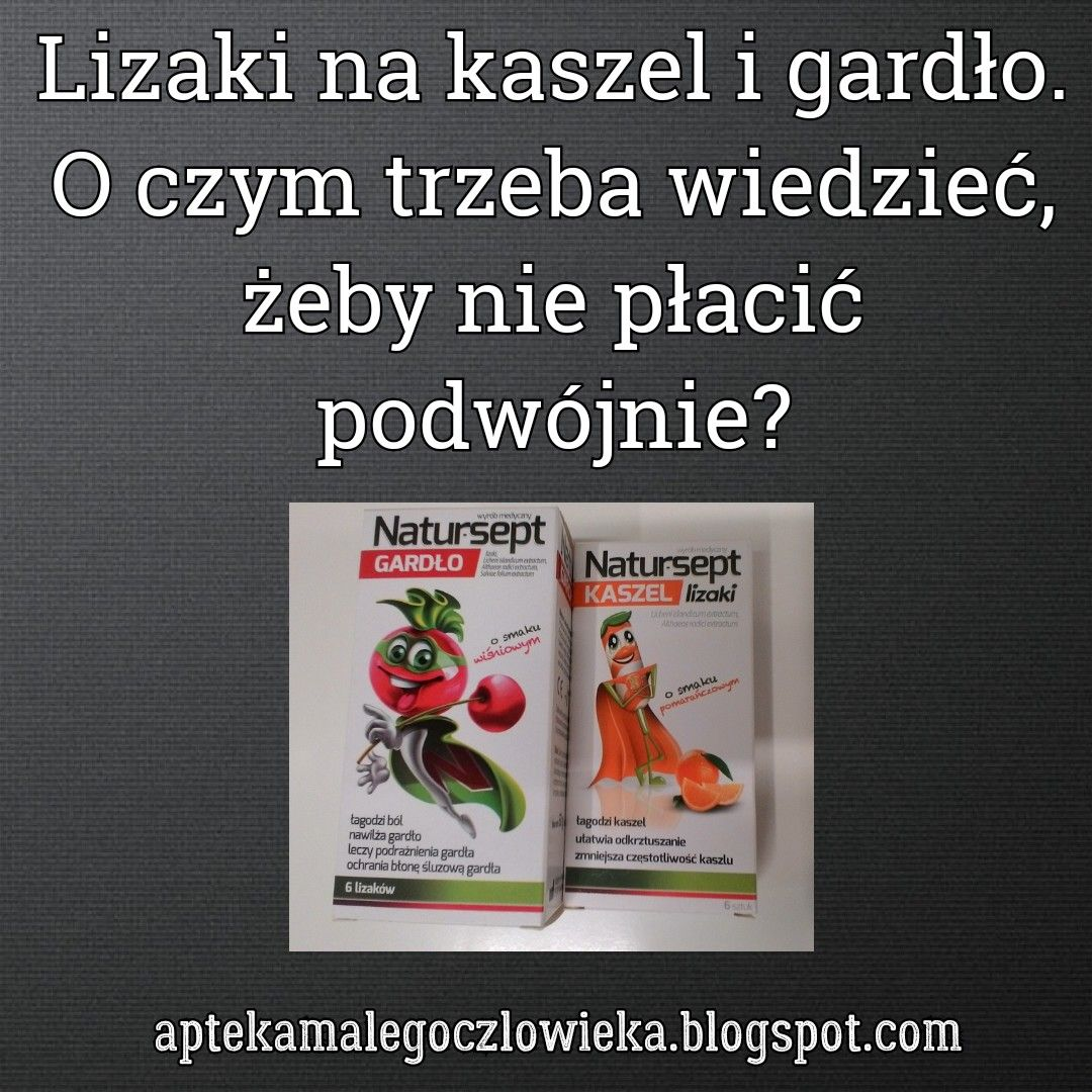 #aptekamalegoczlowieka #lizaki #kaszel #kidshealth