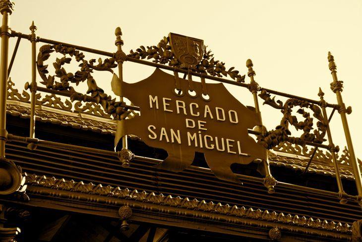 Mercado de San Miguel, proeven van spaanse lekkernijen