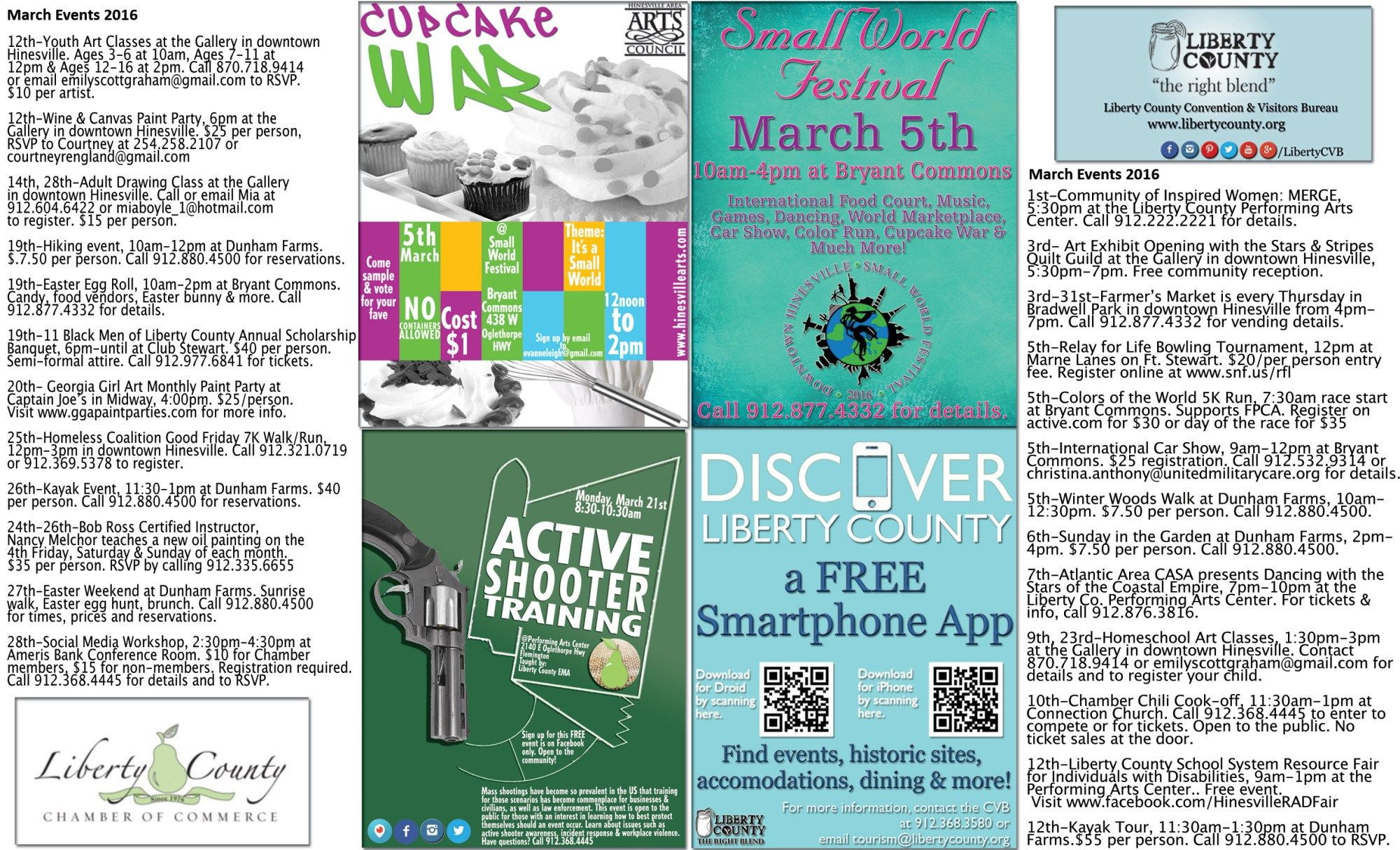 Calendar of eventsmarch 2016 liberty county event