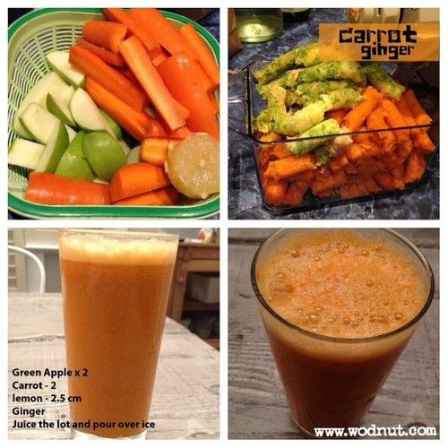 """Another recipe from """"7lbs in 7 days"""" however I'll give this a 6/10 purely because I think there is too much sugar. I'll add celery to the mix next time. Think the rule of thumb should be 70-80% veg / 20% fruits so that it is healthier. #paleo #detox #juice #wodnut"""