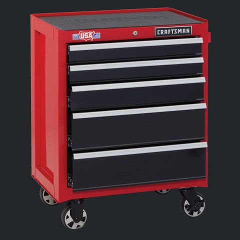 Shop CRAFTSMAN 2000 Series 26 5-in W x 34-in H 5-Drawer Ball-bearing