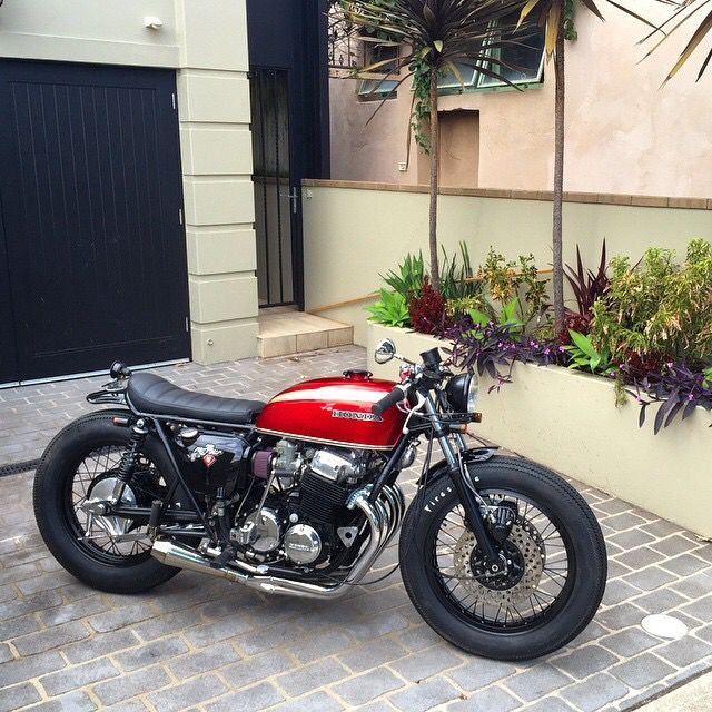 Honda CB750 #caferacer by @drding | caferacerpasion.com
