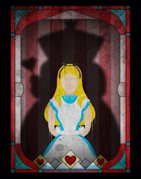 Queen of Hearts Shadow