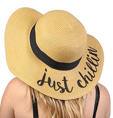Best Straw Hats with Words for the Summer (because there's ...