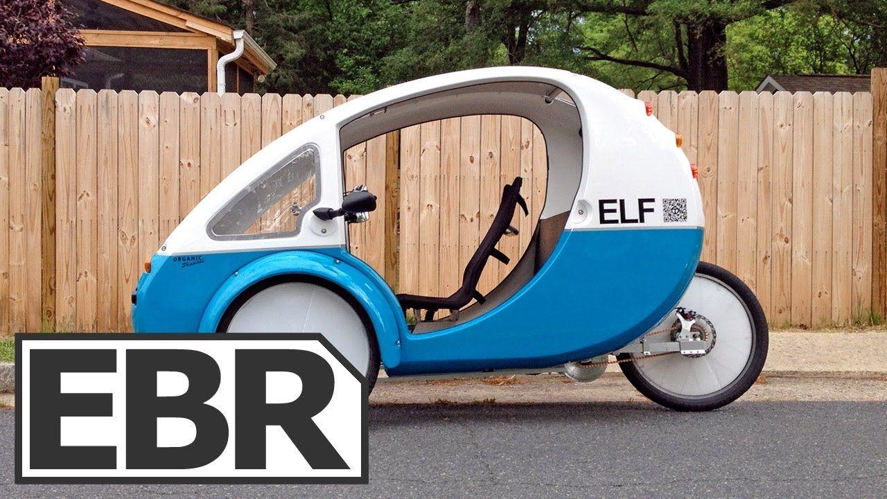 Organic Transit Elf Video Review Solar Powered Recumbent Electric Trike Electric Trike Solar Car Electricity