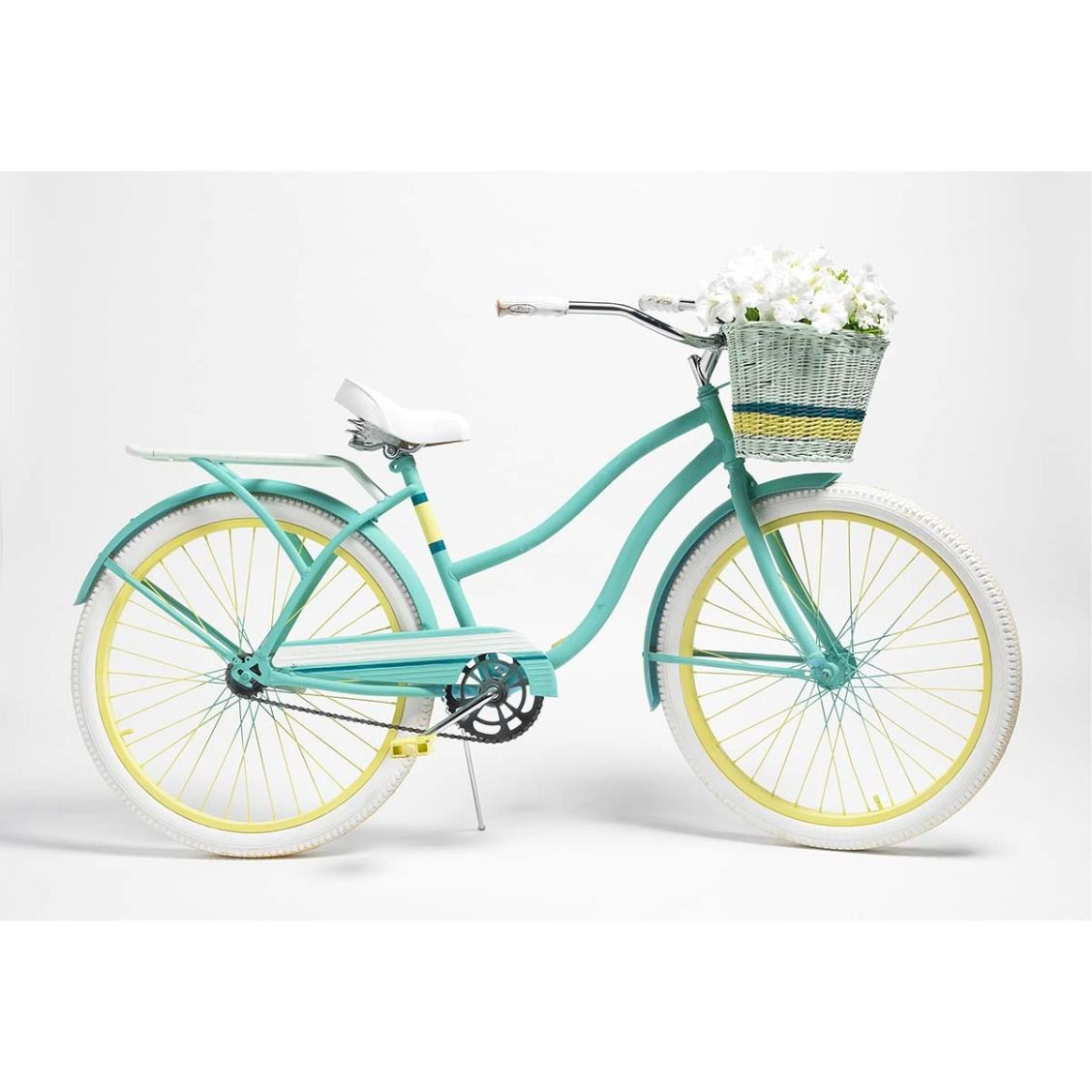 Garden decor bicycle  Martha Stewart Painted Vintage Bicycle using Martha Stewart Decor