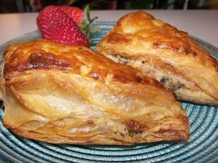 Creamy Chicken and Garlic Picnic Pasties...
