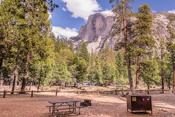 Lower pines campground yosemite valley west coast is for Yosemite park camping cabins