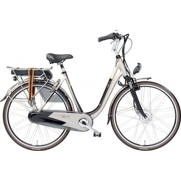 98e5ab43251 Elektrische fiets Sparta Emotion C3 Dames lage instap 44 cm lagunagold/black