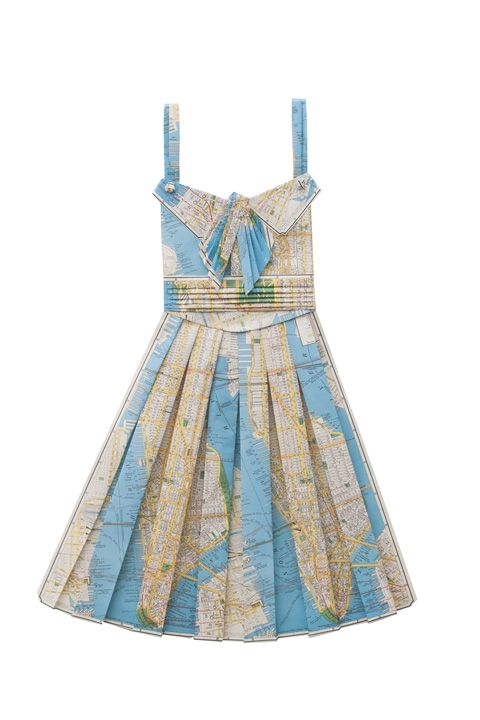 DIY Inspiration - Paper Map Dresses | PAPER TRAIL | Paper ... on map black, map rail, map blouse, map travel, map jacket, map skirt, map sweatshirt, map art, map vest, map clothing, map fabric, map shirt, map costume, map games, map school, map shoes, map history, map with title, map pants,
