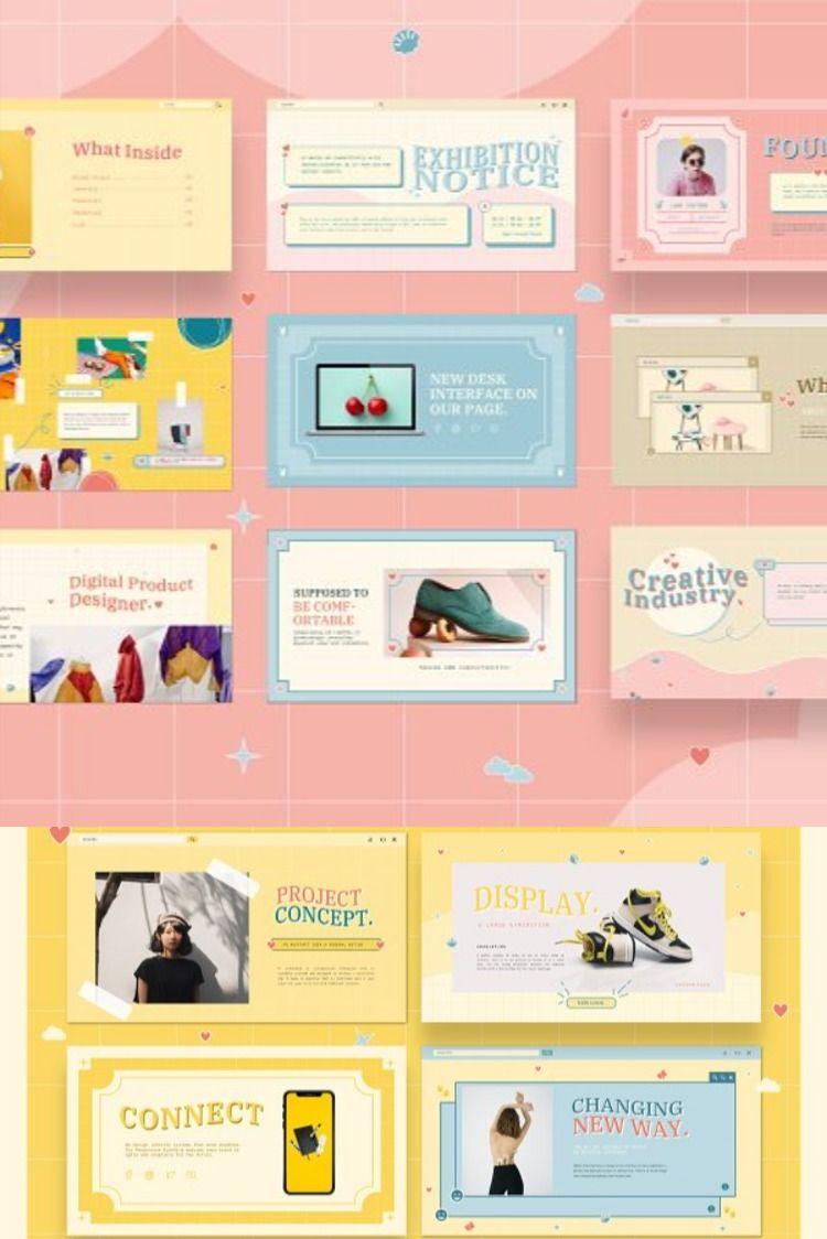 Powerpoint Presentation Template 50 Unique Slides Powerpoint Presentation Design Presentation Design Layout Presentation Layout