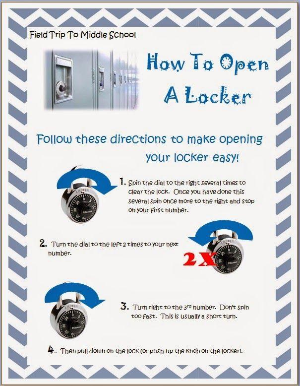 Middle School Lockers On Pinterest School Locker