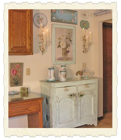 Cottage of the Month January 07 //theoldpaintedcottage.com ... on