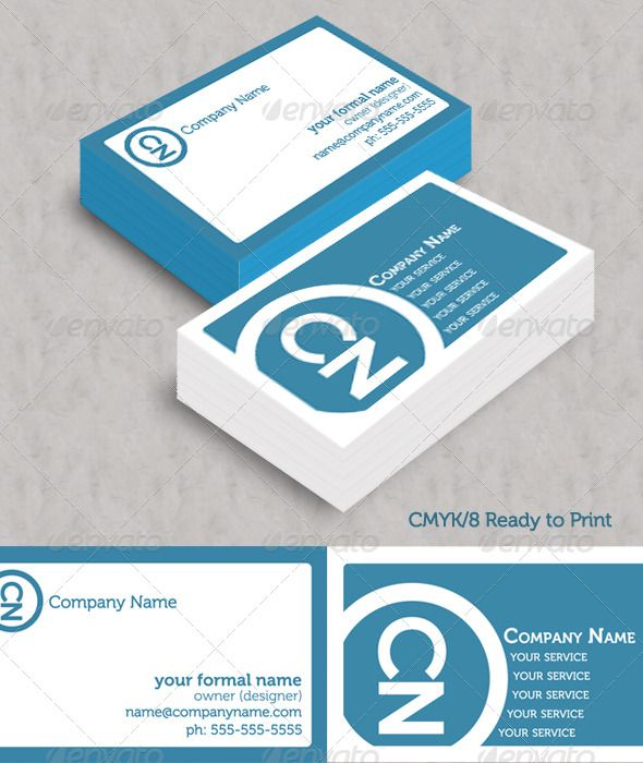 Simple blue initials business cards graphicriver business cards simple blue initials business cards graphicriver business cards created for any business desiring a colourmoves