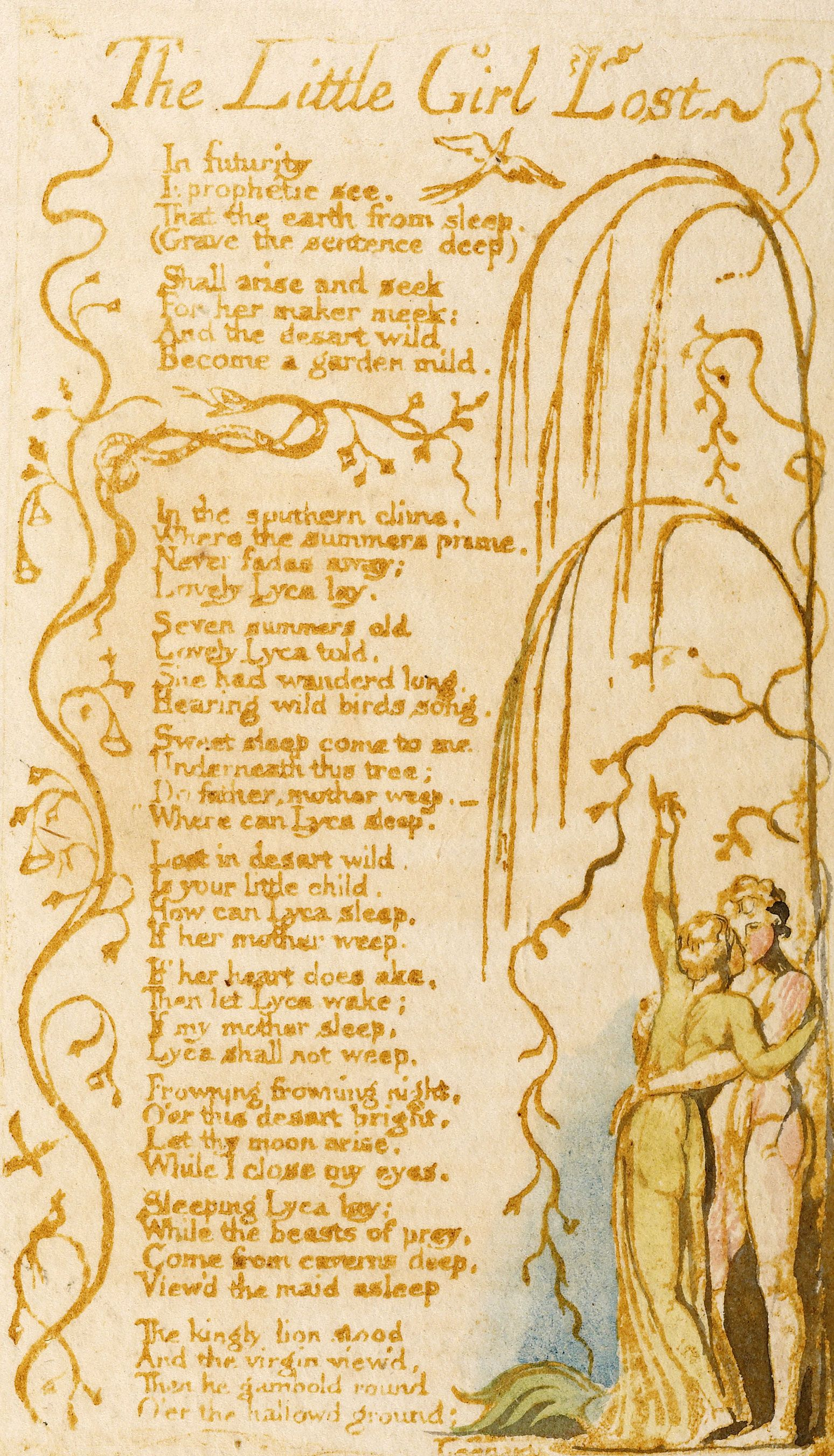 William Blake | Songs of Innocence | 1789 | The Morgan Library & Museum
