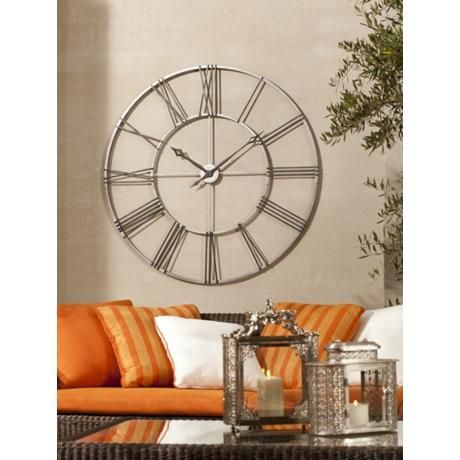 "Howard Miller Stockton 49"" Wide Wall Clock | Howard Miller ..."