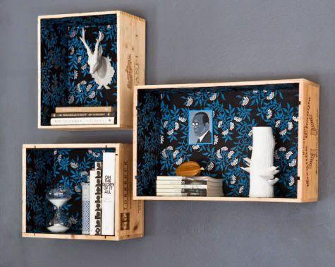 Mobili Fai Da Te Con Cassette Della Frutta : Librerie fai da te idee per crearne di bellissime leitv