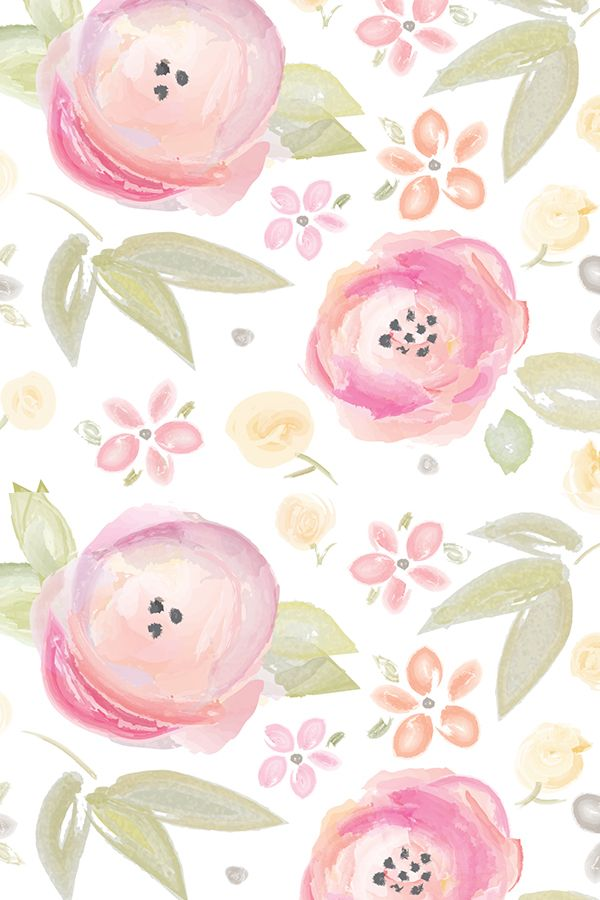 Colorful Fabrics Digitally Printed By Spoonflower Watercolor