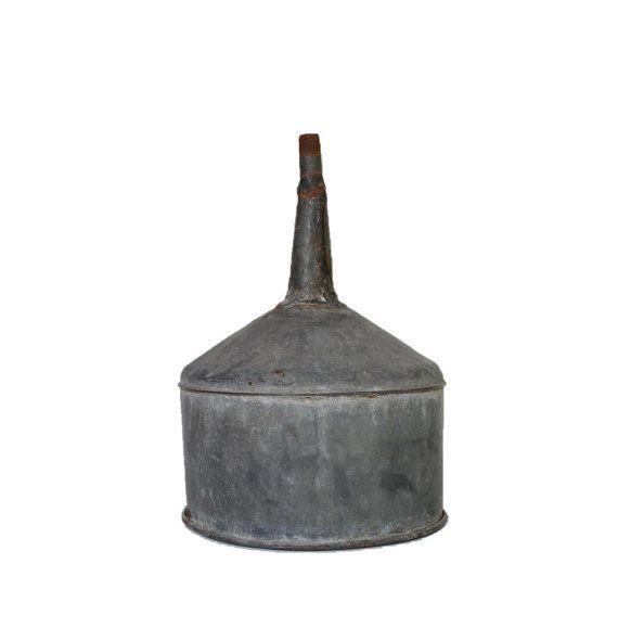 Vintage Farm Funnel. Galvanized metal. DIY by FindingtheFloor $27.00  sc 1 st  Pinterest & Vintage Farm Funnel. Galvanized metal. DIY lighting supplies ...