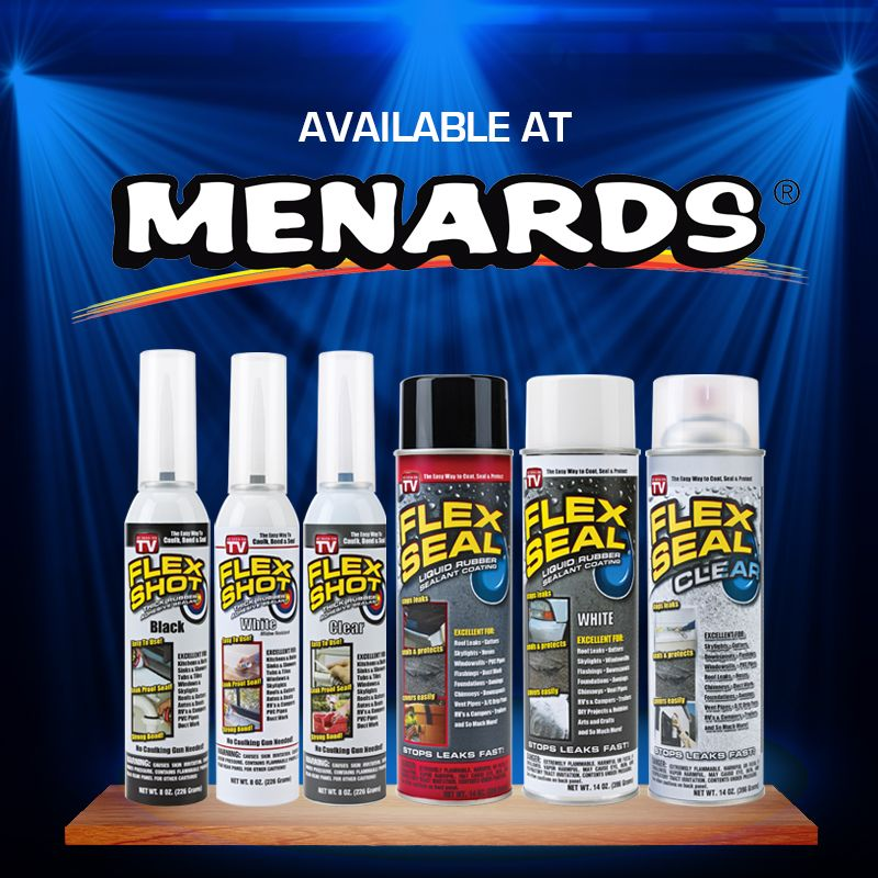 Find Flex Shot And Flex Seal At Menards Diy Patio Apartment Patio Diy Bathroom
