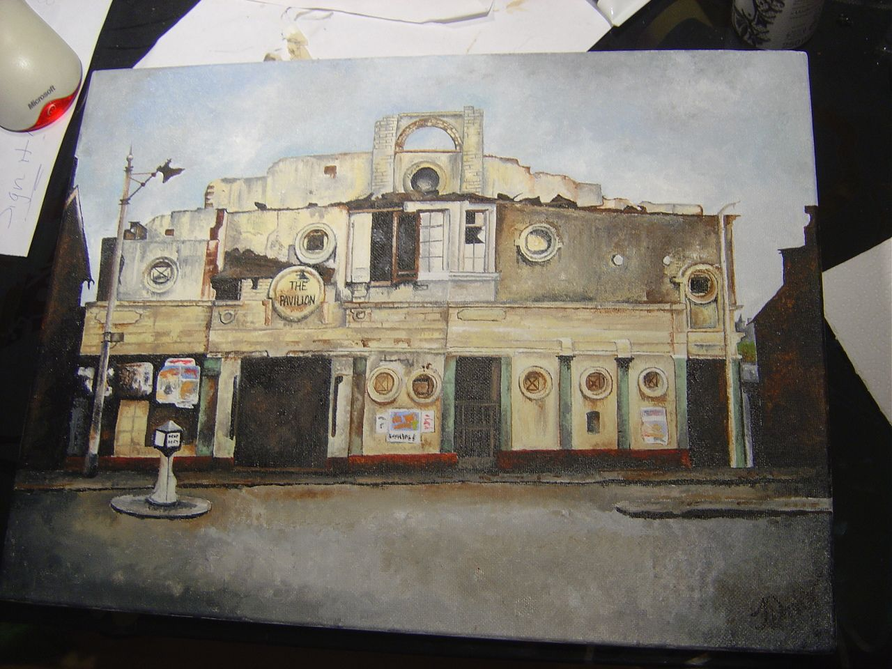 Pavilion Cinema, now demolished