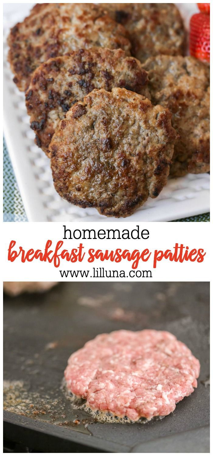 Photo of How to Make Breakfast Sausage Simple and Quick | Lil' Luna