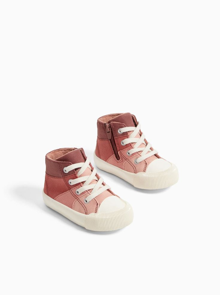 TRICOLOR HIGH TOP SNEAKERS - View All