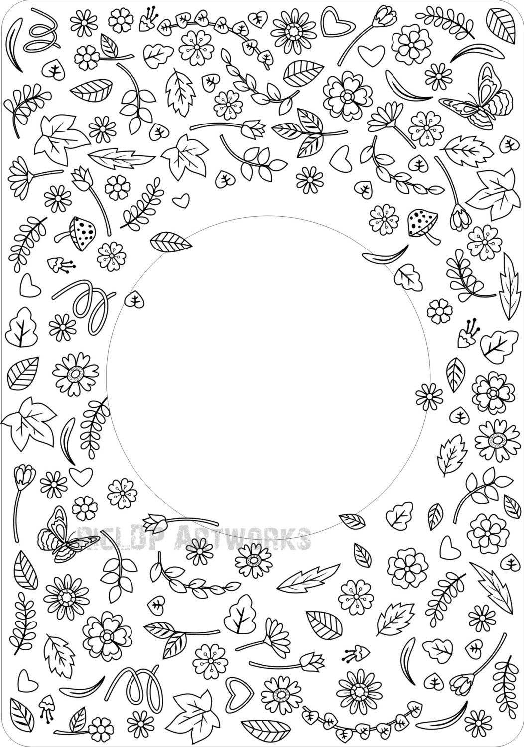 Coloring pages kindness - Printable Throw Kindness Around Like Confetti Coloring Page For Grown Ups