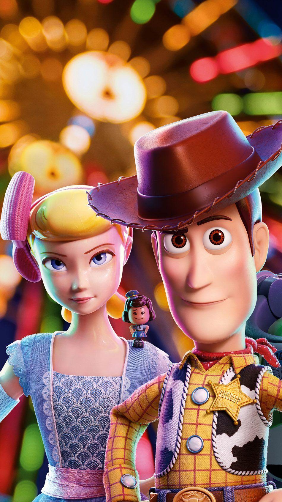 Bo Peep Woody In Toy Story 4 Animation 4k Ultra Hd Mobile Wallpaper Bo Peep Toy Story Disney Characters Wallpaper Woody Toy Story