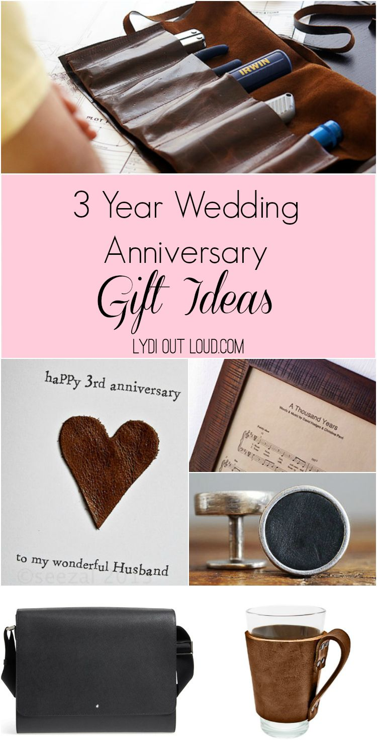 3 Year Anniversary Gift Ideas 3rd Year Anniversary Gifts Leather Anniversary Gift Anniversary Gifts