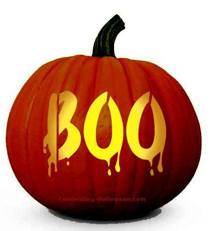 "jack o lantern template boo  Boo"" FREE Pumpkin Carving Download in 6 | Halloween ..."