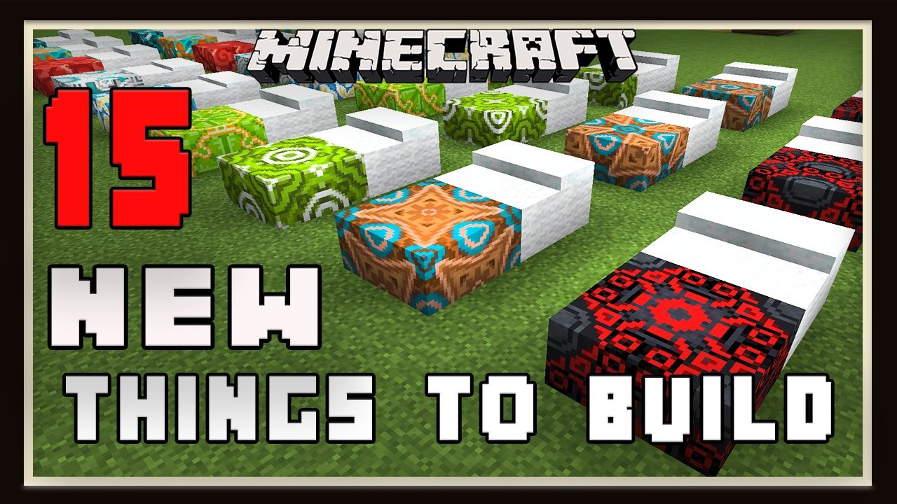 Minecraft 15 New Things To Build With Terracotta And Concrete