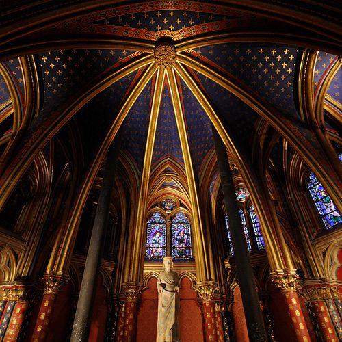 Lower chapel - Sainte-Chapelle - Paris - France | Flickr - Photo Sharing!