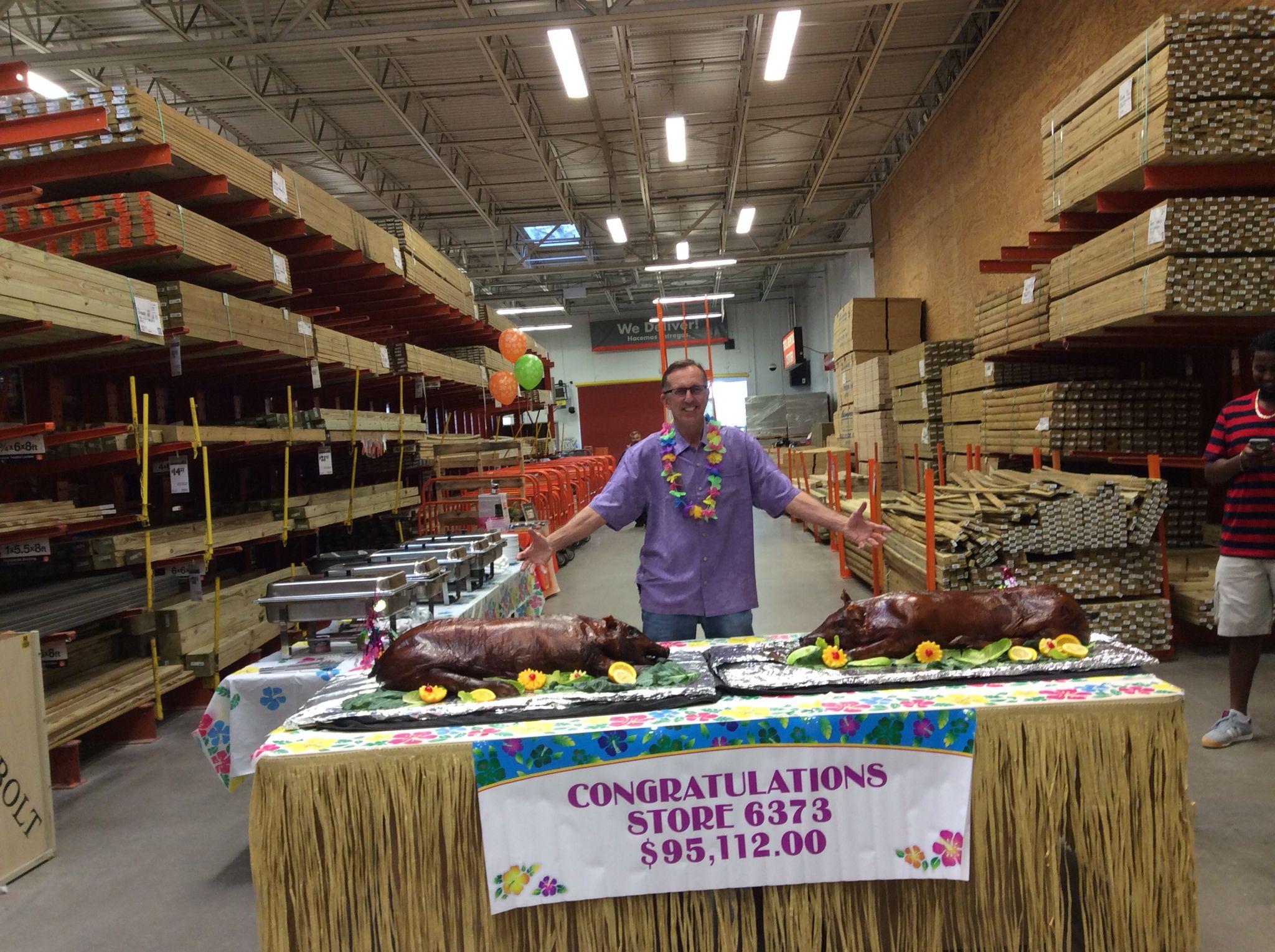 Store 6373 Success Sharing Luau