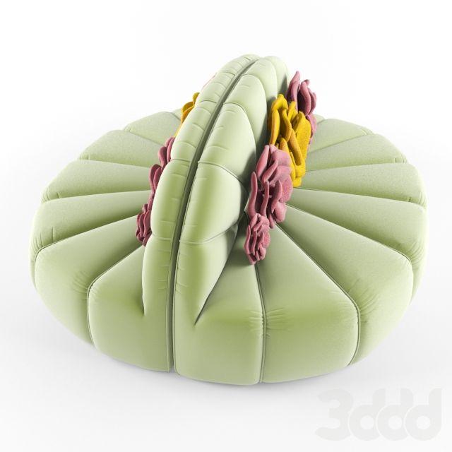 3d модели: Диваны - дизайнерский диван