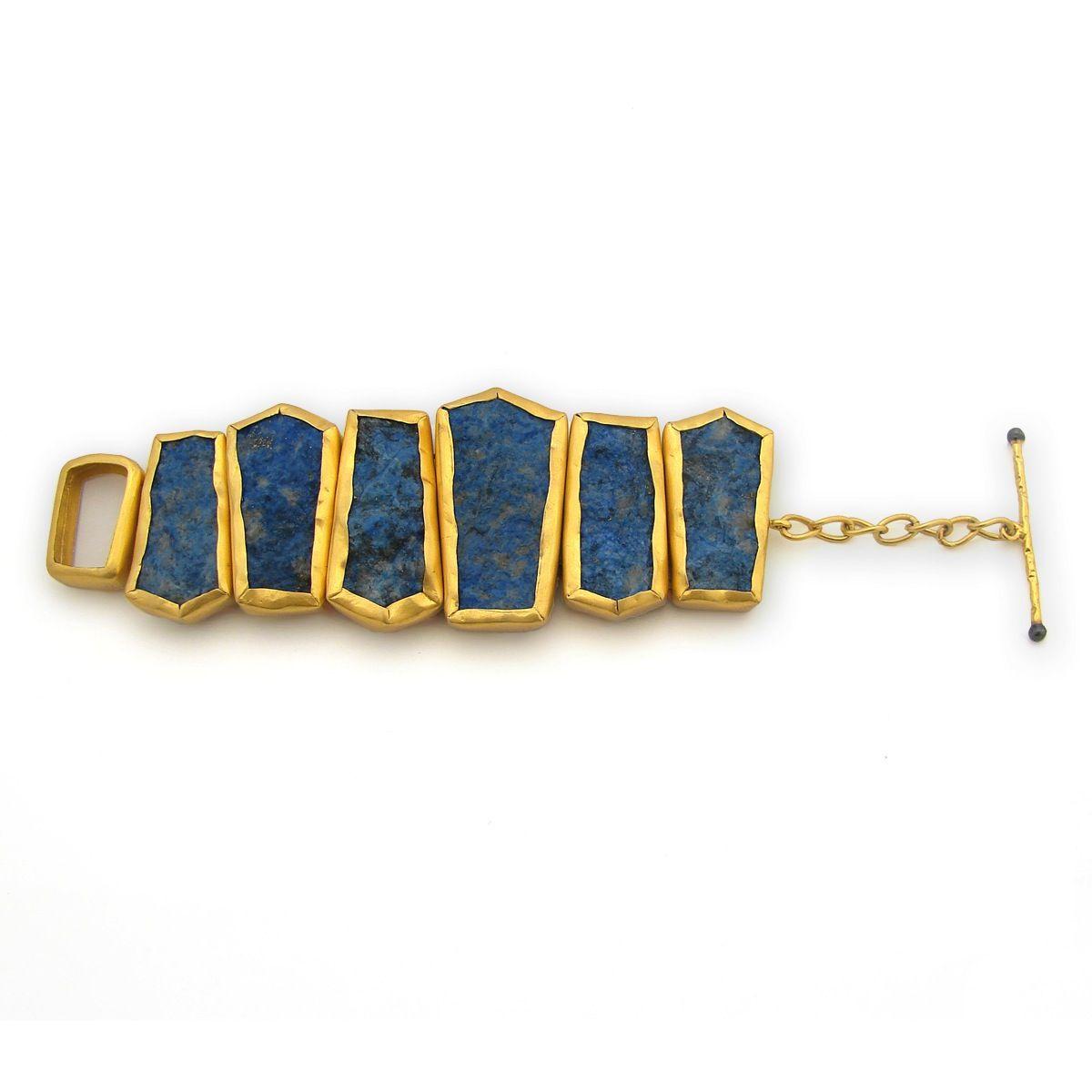 The Stonehenge Bracelet by SHANTTI JEWELS
