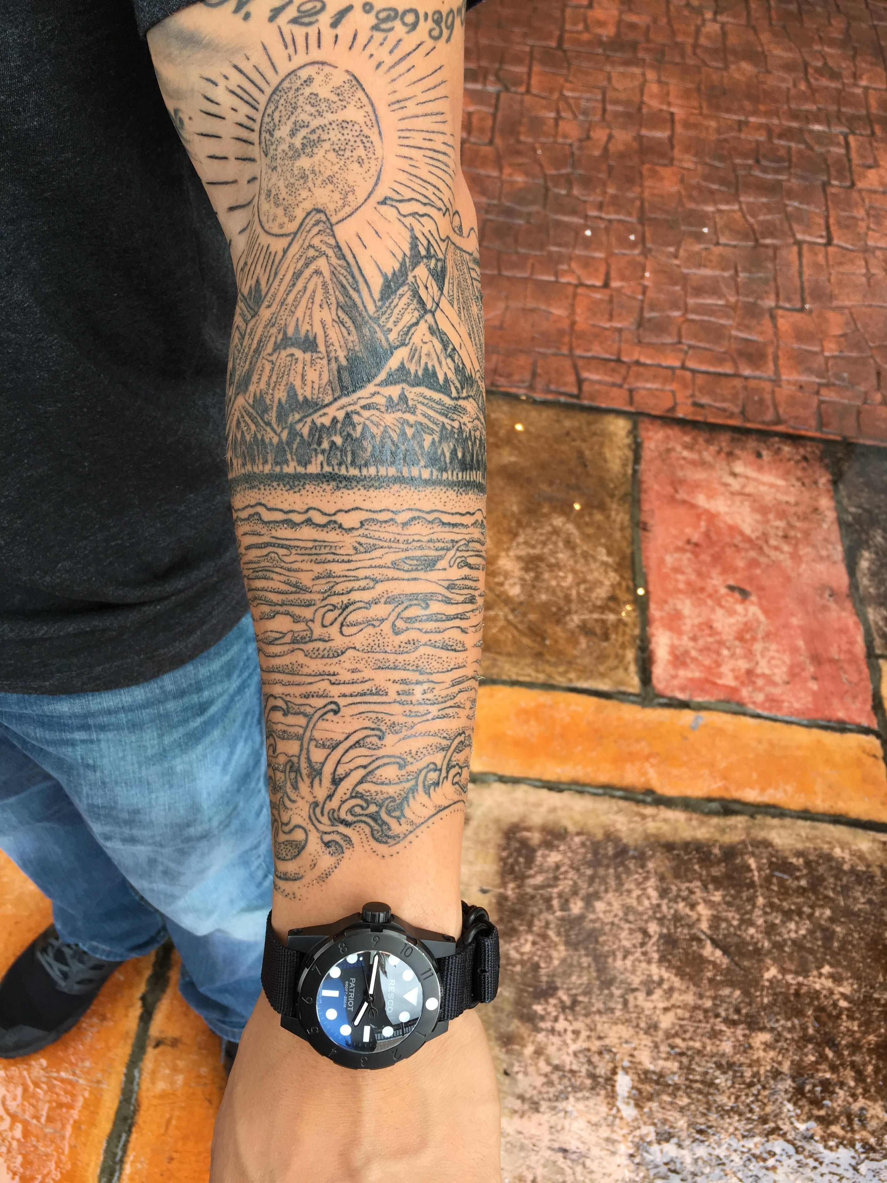 Northern Cali And Okinawa Where I Lived Most My Life And Where I Am Now By Floyd At 58 Body Art