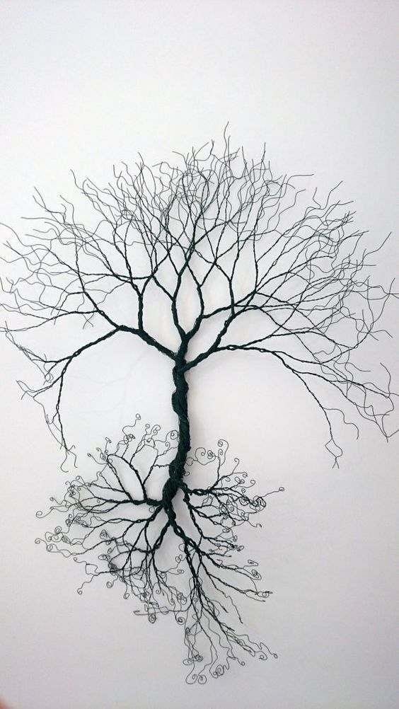 43 Wire Art Sculptures Ready To Emphasize Your Space Rh Co Uk Barbed Projects Easy